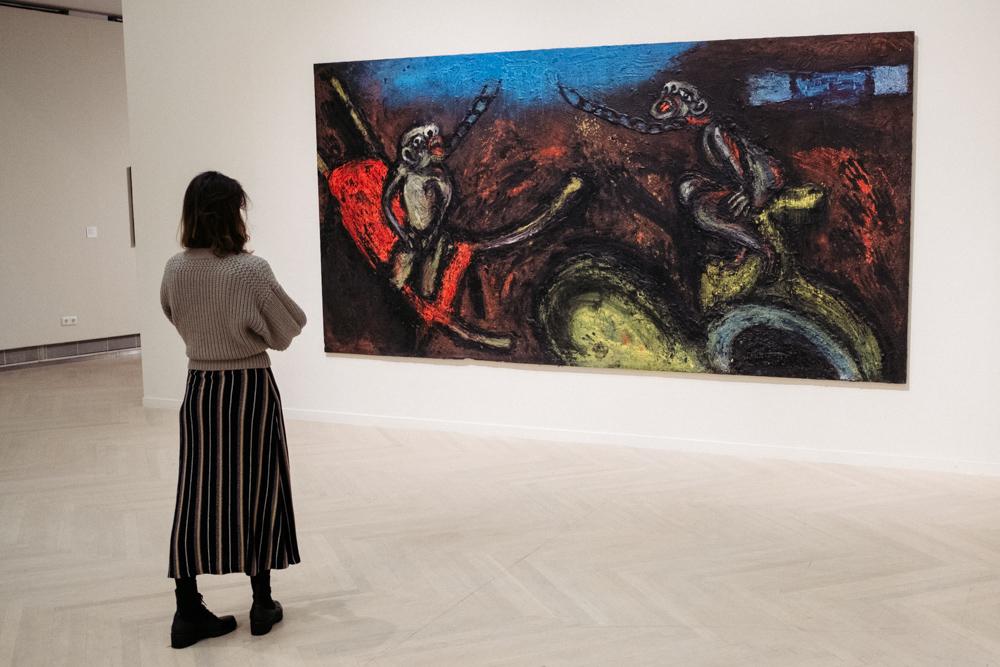 Exposición sobre la influencia de Goya en Kubo kutxa. Foto: Santiago Farizano