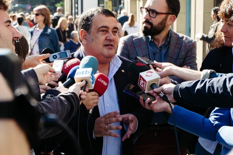 Ernesto Gasco en una imagen de archivo. Foto: Santiago Farizano