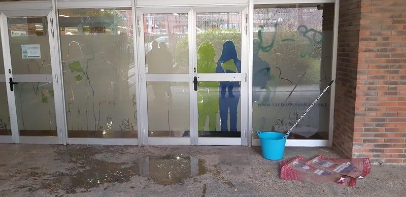 Oficina de Lanbide en Lasarte-Oria el pasado viernes. Foto: Gobierno vasco