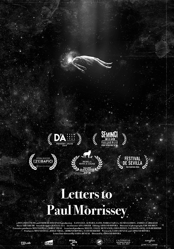 Poster: Letters to Paul Morrissey