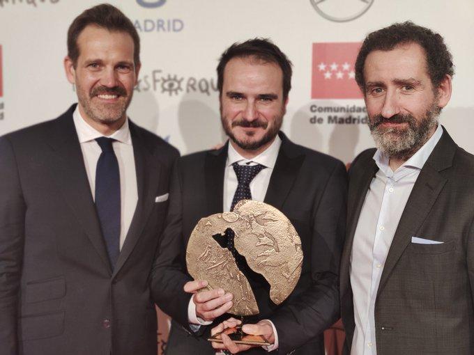 Foto: Premios Forqué (vía twitter)