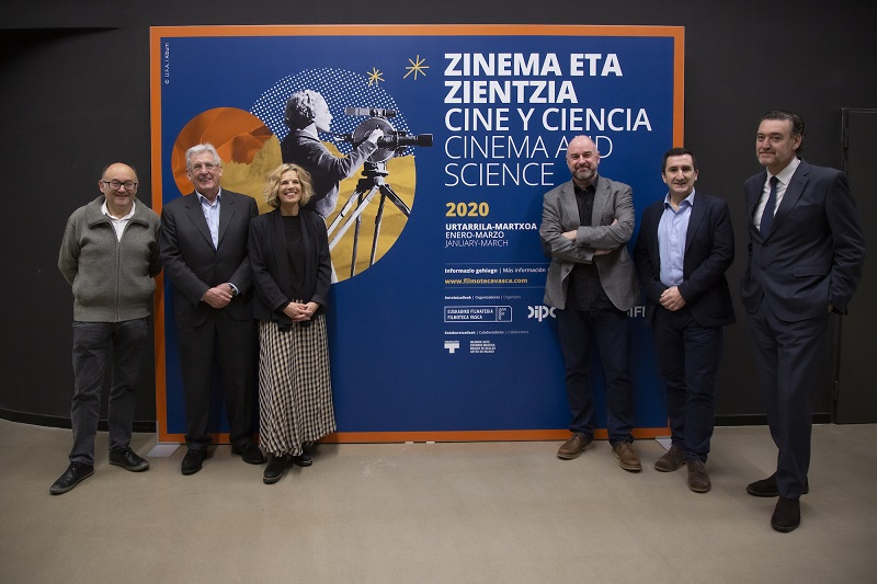 Presentación del nuevo ciclo de cine y ciencia. Foto: Tabakalera