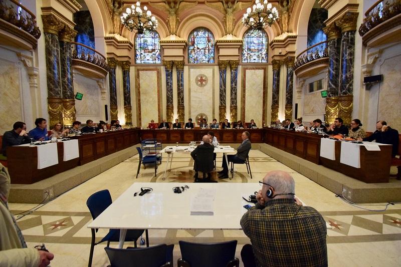 Pleno del Ayuntamiento esta mañana. Foto: Ayto.