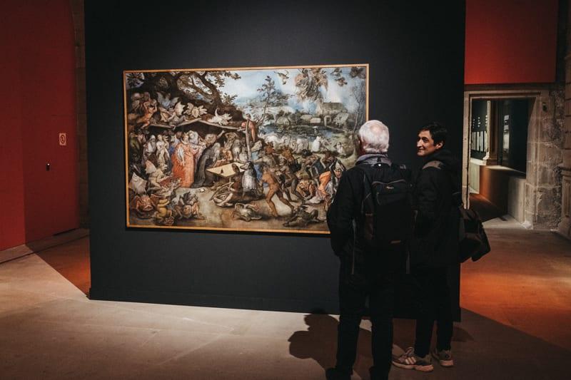Exposición en el Museo San Telmo. 'El diablo, tal vez'. Foto: Santiago Farizano