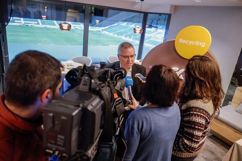 José Ignacio Asensio esta mañana. Foto: Diputación