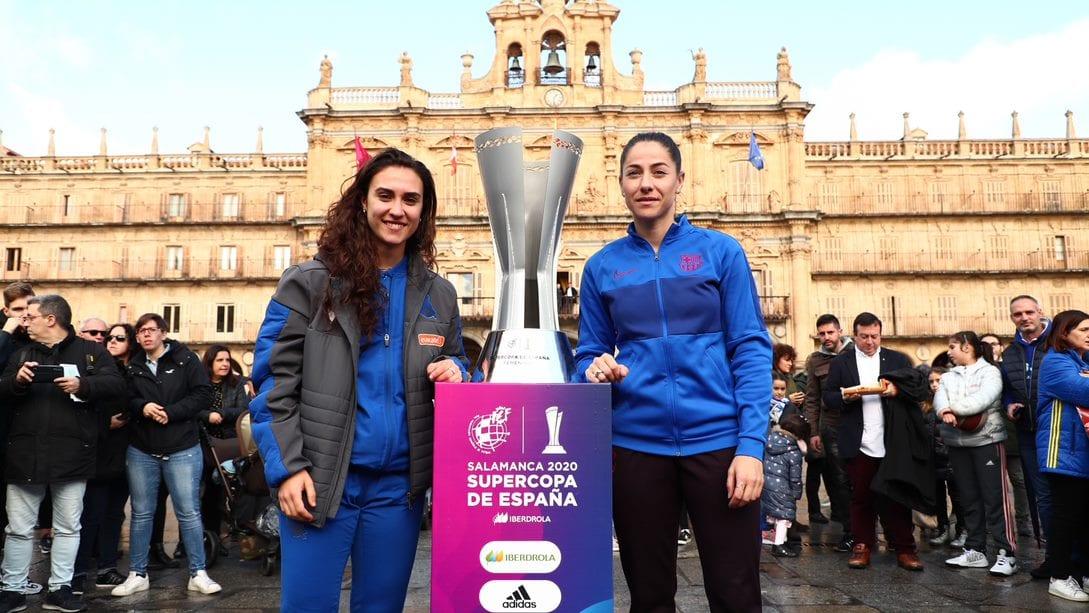 Máxima ilusión en Salamanca de cara a la final de la Supercopa. Foto: Real Sociedad