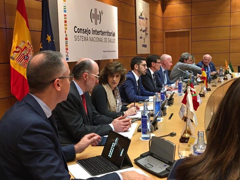 Consejo interterritorial a causa del coronavirus. Foto: Gobierno vasco