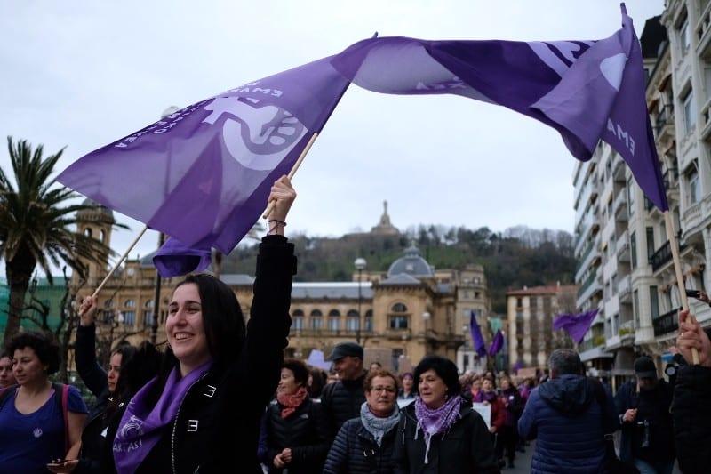 Imagen de archivo. Manifestación del pasado año el 8M. Foto: Santiago Farizano