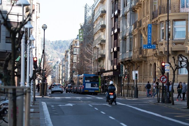 Imagen de la calle San Martín. Foto de archivo: Santiago Farizano