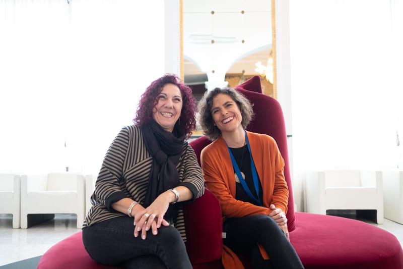 'Ya no seremos' con Lola Ortiz de Lanzagorta y María Sánchez. Foto: Santiago Farizano