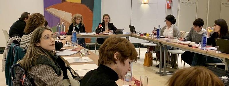 La Consejera, Sonia Peréz y la directora de Kontsumobide, Olga Santamaría. Foto: Kontsumobide