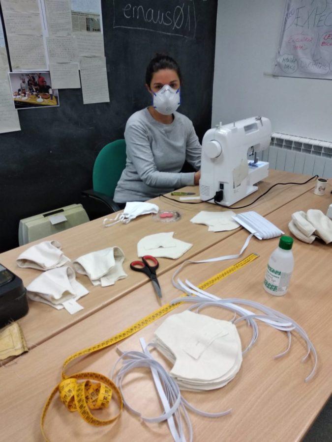 Trabajadora de Emaús. Foto: Fundación Emaús