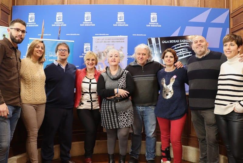 Presentación de Bideak Zabalduz. Foto: Ayuntamiento de San Sebastián