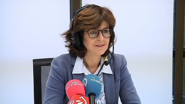 La consejera Nekane Murga. Foto: Gobierno vasco