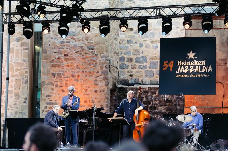 Jazz en la Plaza de la Trinidad. Foto: Santiago Farizano
