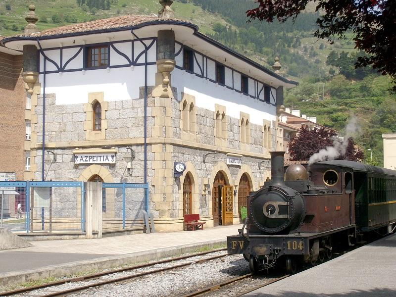 Museo Vasco del Ferrocarril en Azpeitia. Foto: Euskotren