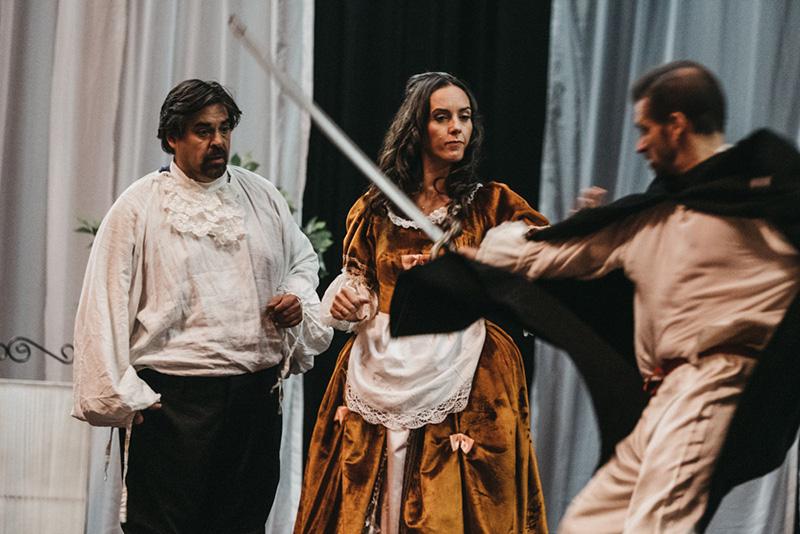 Ensayo de la Serva Padrona en el Teatro Victoria Eugenia. Fotos: Santiago Farizano