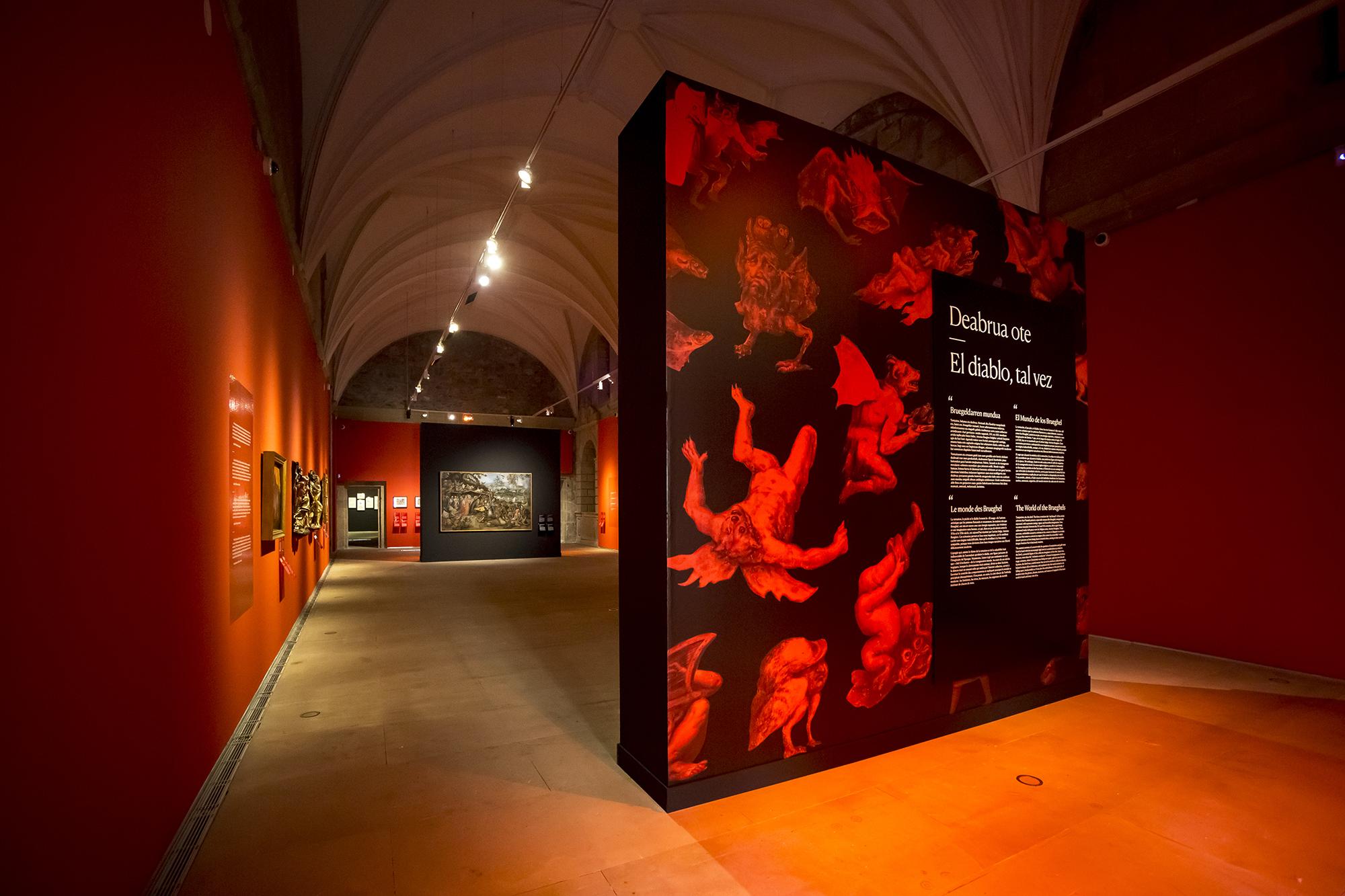 El diablo, tal vez. El mundo de los Brueghel. Foto: Donostia Kultura