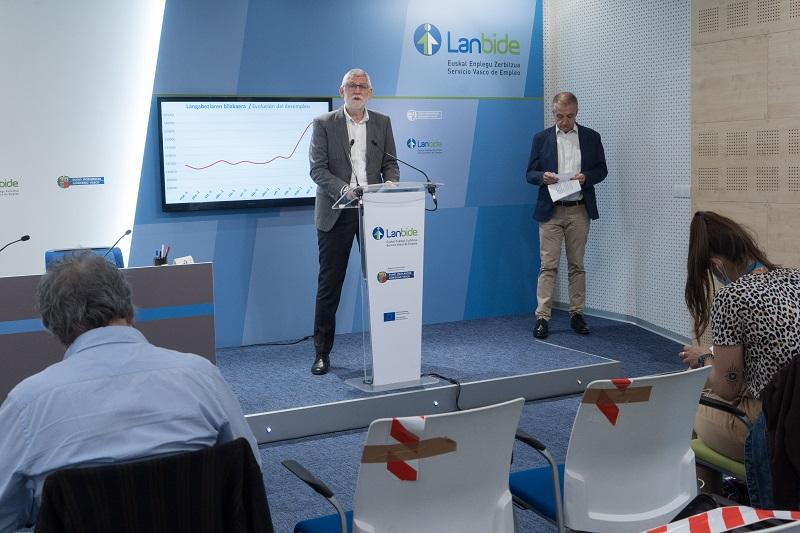 Borja Belandia, director de Lanbide. Foto: Gobierno vasco
