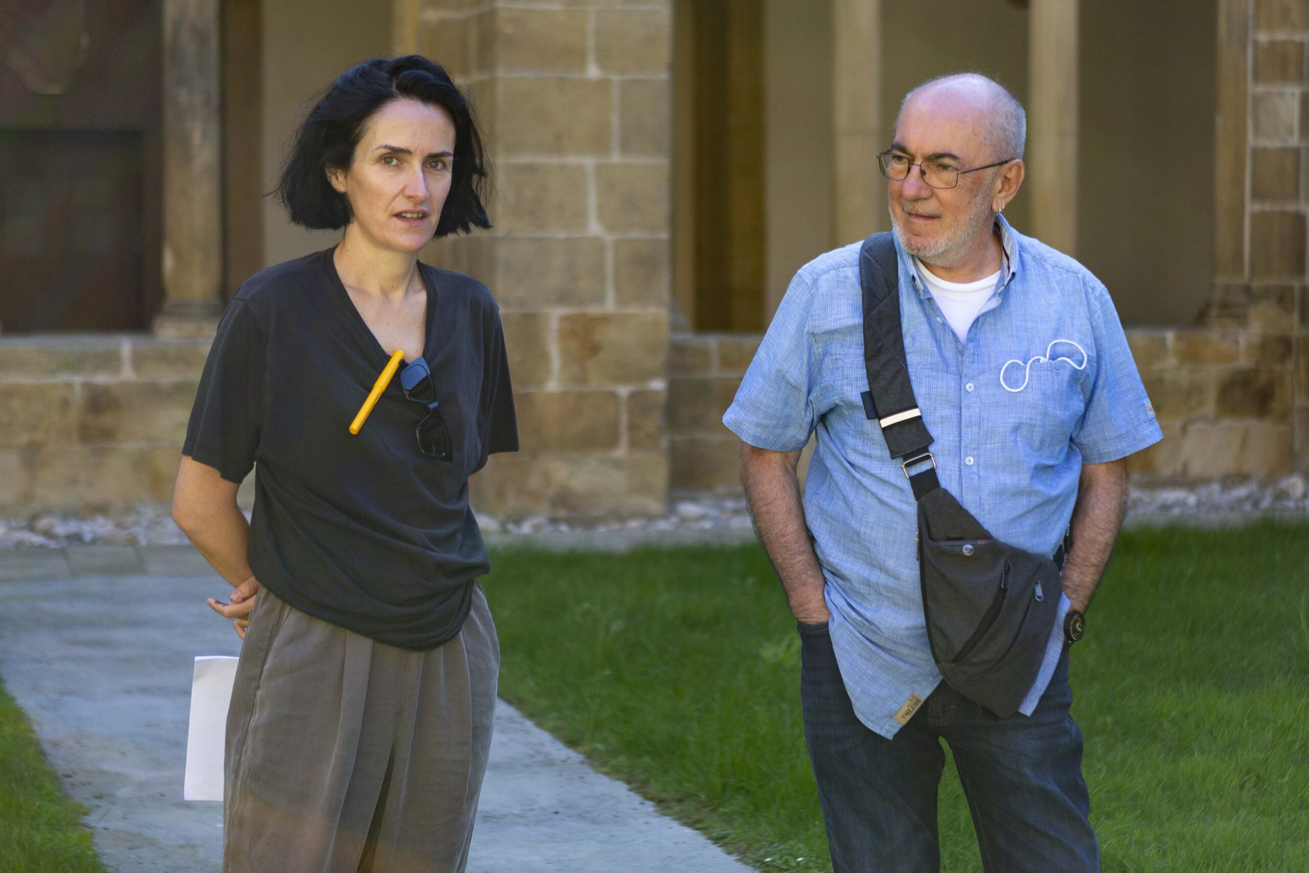 Erlea Maneros y Jose Mari Zabala. Foto: Oskar Moreno