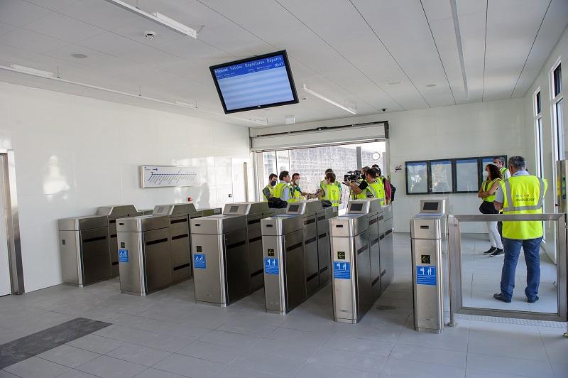 Nueva estación de Hendaia. Foto: Gobierno vasco