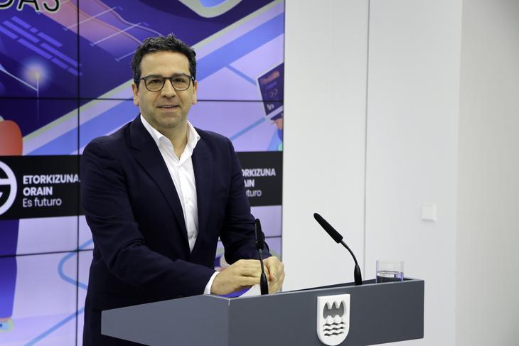 Imanol Lasa. Foto: Diputación Foral de Gipuzkoa