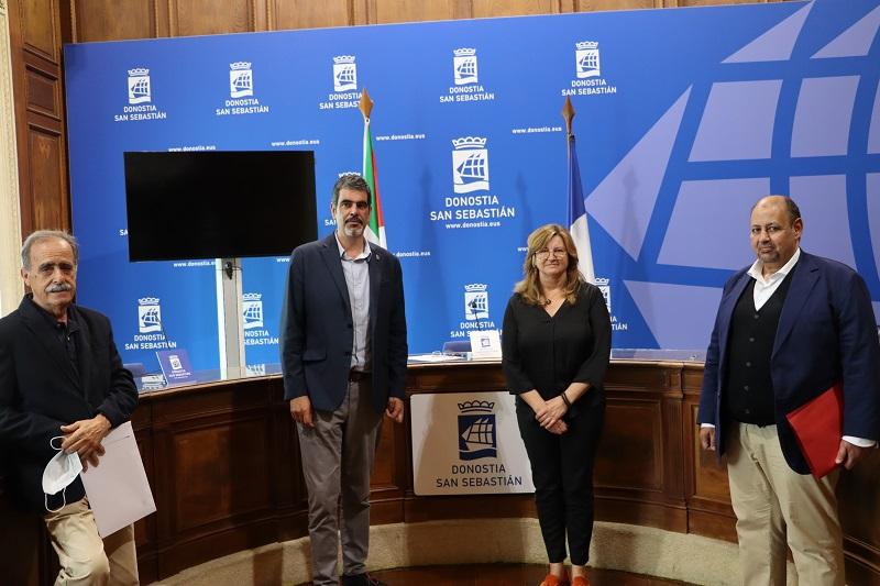 Asociaciones de amigas y amigos del pueblo Saharaui. Foto: Ayuntamiento de San Sebastián