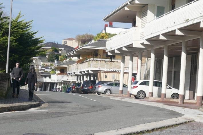 Bera bera, en el barrio de Aiete. Foto: Ayuntamiento