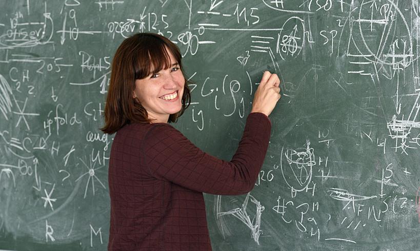 Maia Garcia Vergniory, investigadora Ikerbasque del DIPC.