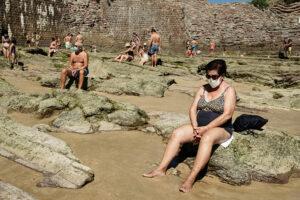 DSCF2681 300x200 - Círculos en la arena del verano donostiarra