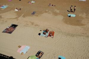 DSCF3087 300x200 - Círculos en la arena del verano donostiarra