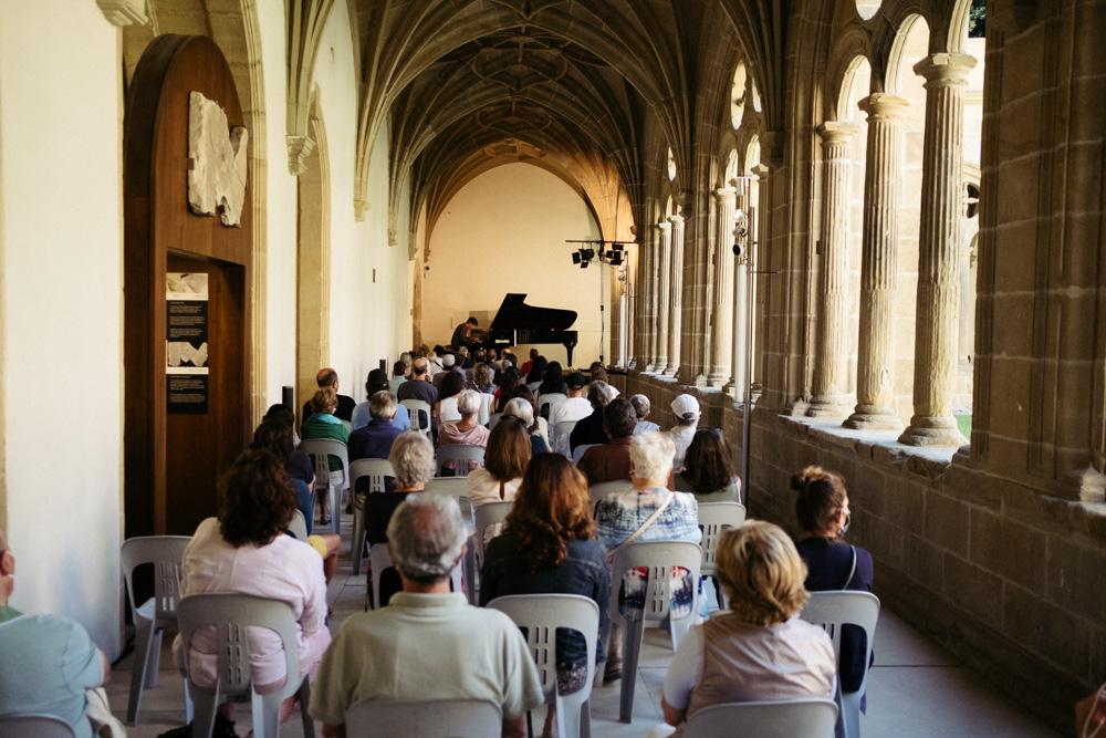 Concierto en el claustro de San Telmo. Foto: Santiago Farizano