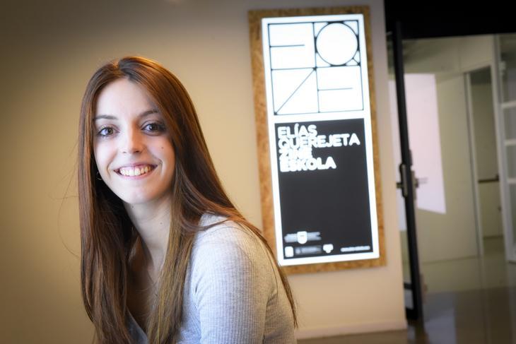 Marina Palacio. Foto: Diputación Foral de Gipuzkoa