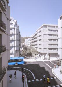 Easo peatonal 214x300 - Peatonalización del Centro: Donostia iniciará tras el verano los cambios en el tráfico