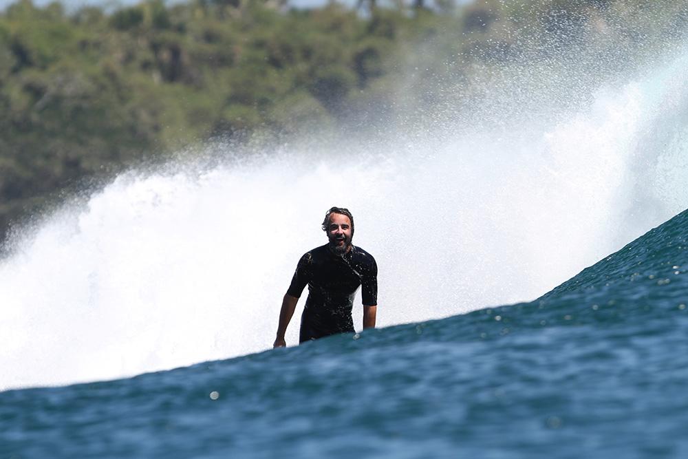 El surfista y autor de 'Un surfista en busca del paraíso' Iñigo Barinaga.