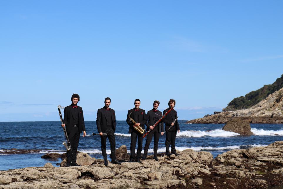 Oreka Reed Quintet. Foto: Quincena Musical