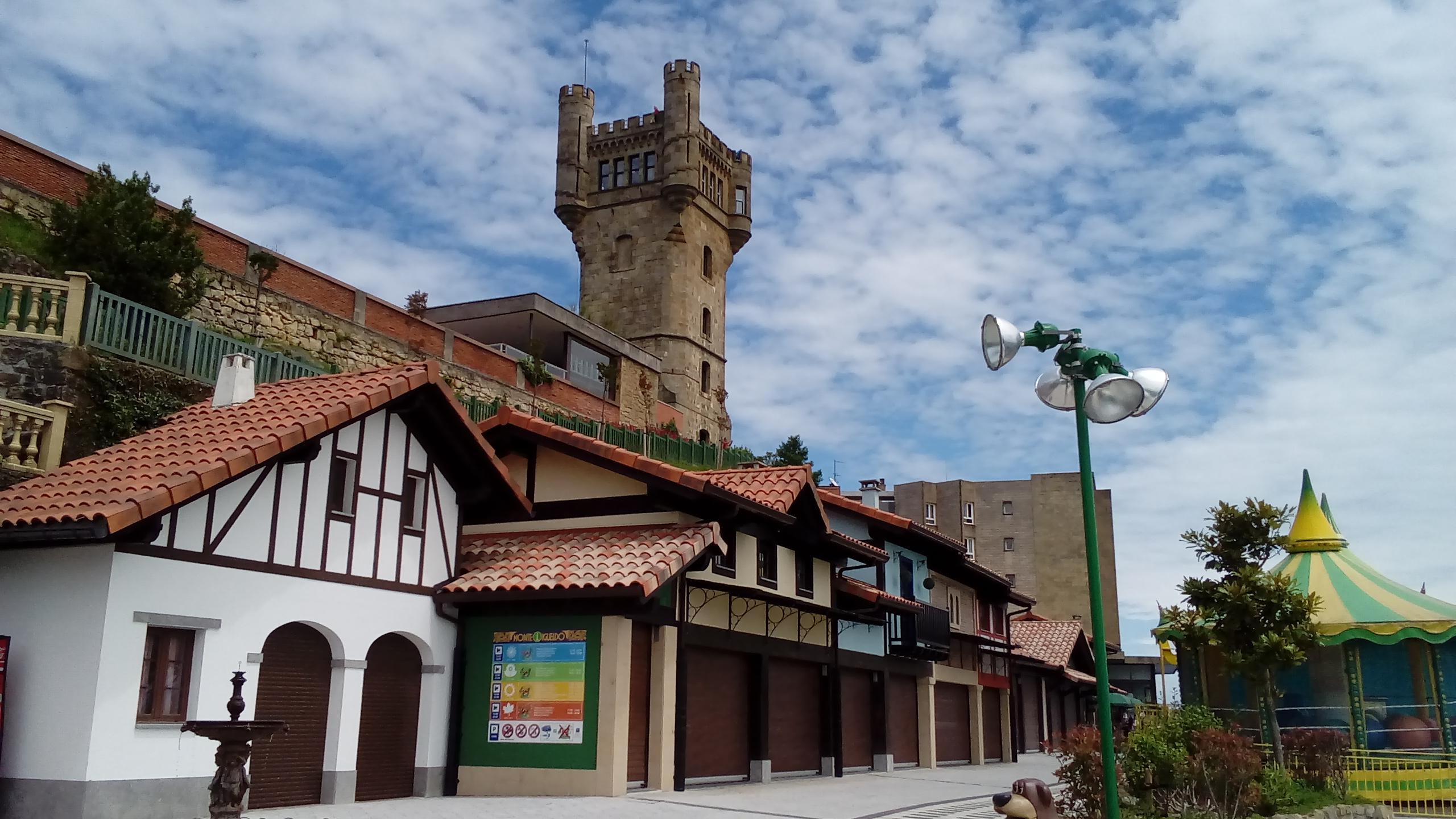 Caseta del parque de atracciones del Monte Igueldo. Foto: Pilar Pascual