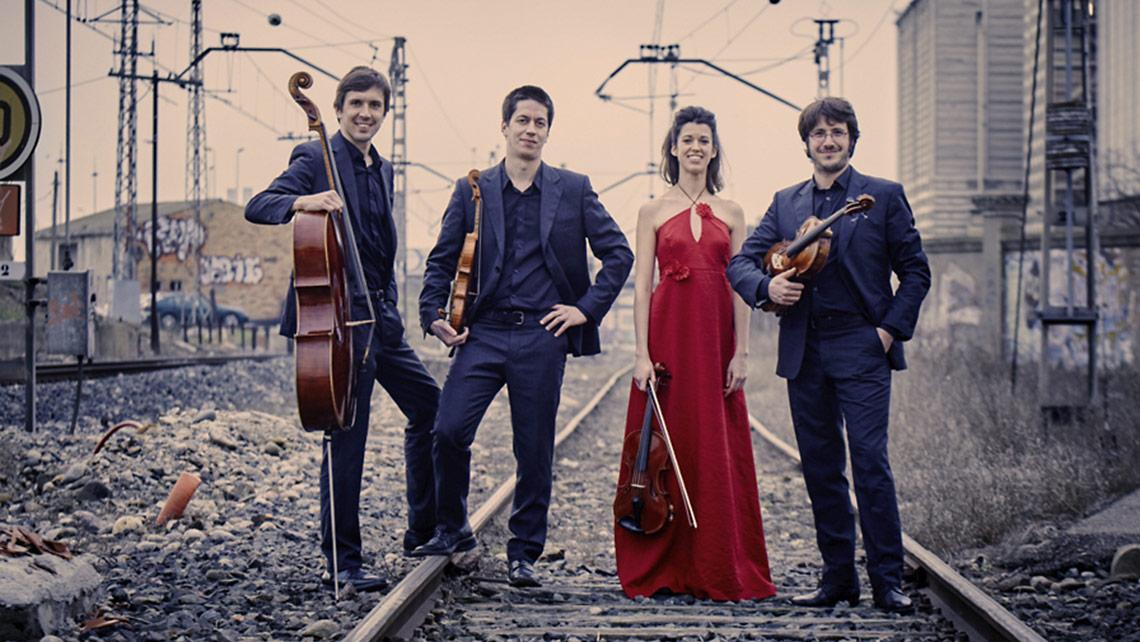 Cuarteto Gerhard. Foto: Quincena Musical