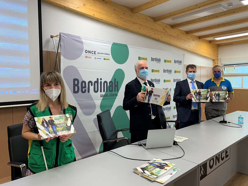 Presentación del Informe del Valor Compartido. Foto: Grupo Social ONCE