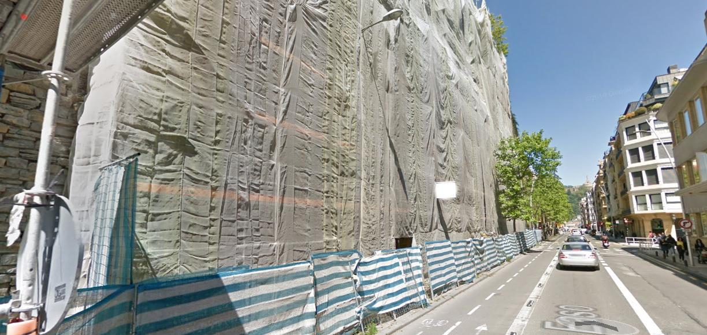 Muro de San Bartolomé. Foto: Ayto.