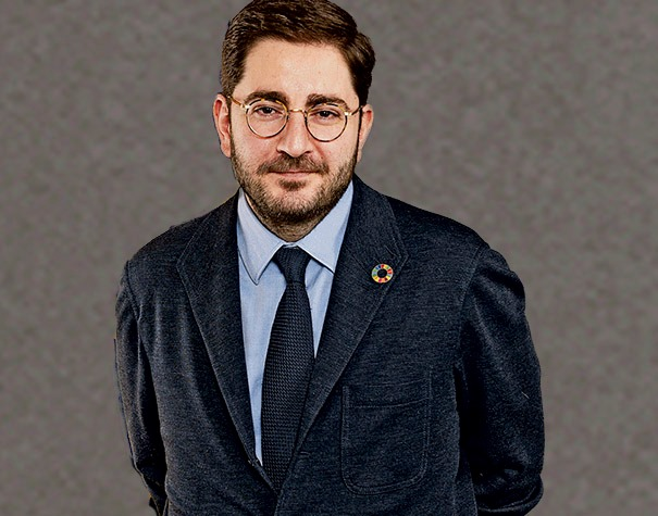 Manuel Mñiz, Espainia globaleko estatu-idazkaria. Argazkia: Gipuzkoako Foru Aldundia