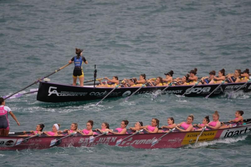 2020 0906 09065800 copy 800x533 - Bandera de la Concha: Toman la delantera Orio en la competición femenina y Hondarribia en la masculina