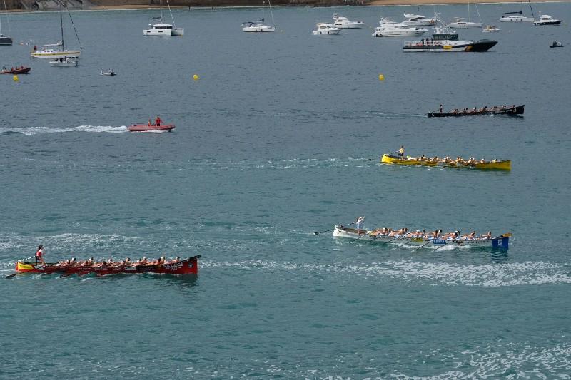 2020 0906 09261000 copy 800x533 - Bandera de la Concha: Toman la delantera Orio en la competición femenina y Hondarribia en la masculina