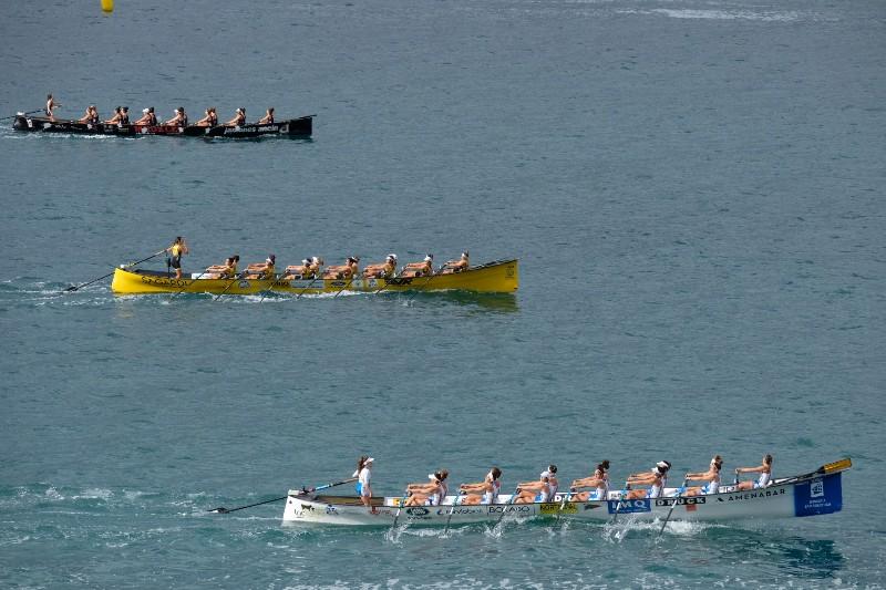 2020 0906 09261600 copy 800x533 - Bandera de la Concha: Toman la delantera Orio en la competición femenina y Hondarribia en la masculina