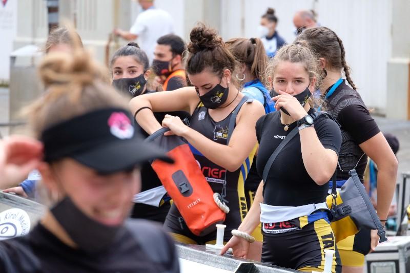 2020 0906 09420000 copy 800x533 - Bandera de la Concha: Toman la delantera Orio en la competición femenina y Hondarribia en la masculina