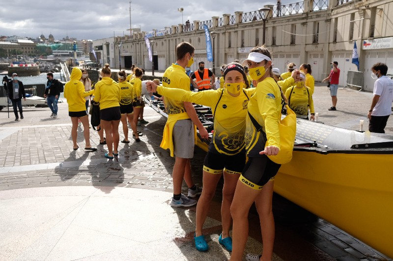 2020 0906 10005400 copy 800x533 - Bandera de la Concha: Toman la delantera Orio en la competición femenina y Hondarribia en la masculina