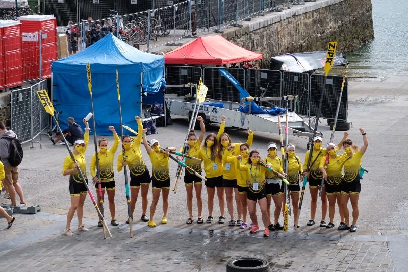 2020 0906 10080800 copy 800x533 - Bandera de la Concha: Toman la delantera Orio en la competición femenina y Hondarribia en la masculina
