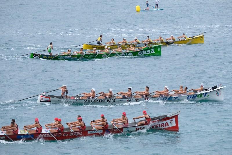 2020 0906 10350600 copy 800x533 - Bandera de la Concha: Toman la delantera Orio en la competición femenina y Hondarribia en la masculina