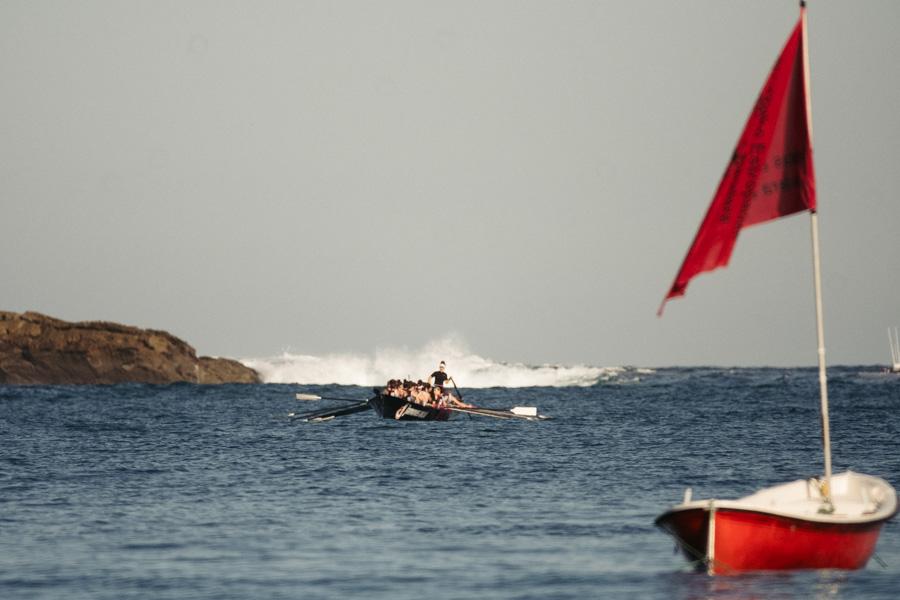 DSCF0893 - Bandera de la Concha: Triunfo de la tripulación masculina de Hondarribia y la femenina de Orio