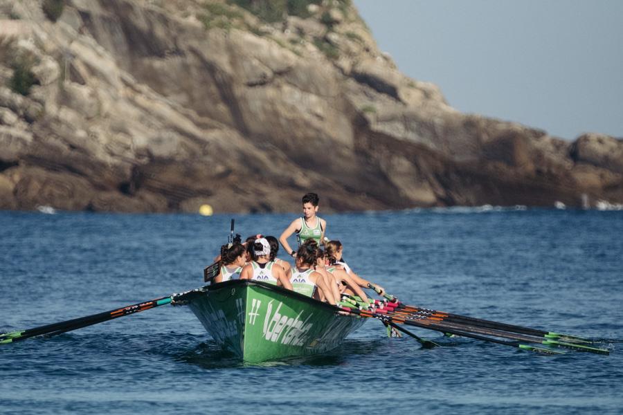 DSCF0908 - Bandera de la Concha: Triunfo de la tripulación masculina de Hondarribia y la femenina de Orio